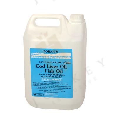Olej z tresčích jater (Cod Liver Oil)