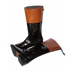 Pracovní boty - J.E. - Lakované