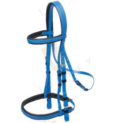 Racing bridle with noseband Zilco