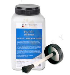 Aceite de pezuña con la hoja de laurel, con el cepillo 500 ml