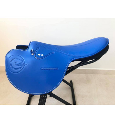 Exercise saddle Zilco - Soft Seat Blue