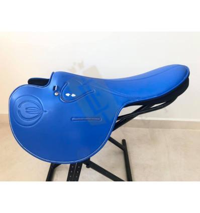 Pracovní sedlo Zilco - Soft Seat Blue