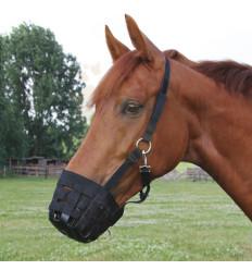 Náhubek pro koně - textilní